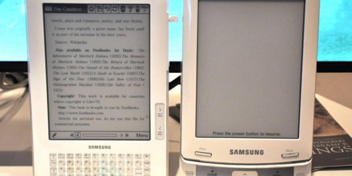 Samsung lanzará 2 lectores de libros electrónicos en julio
