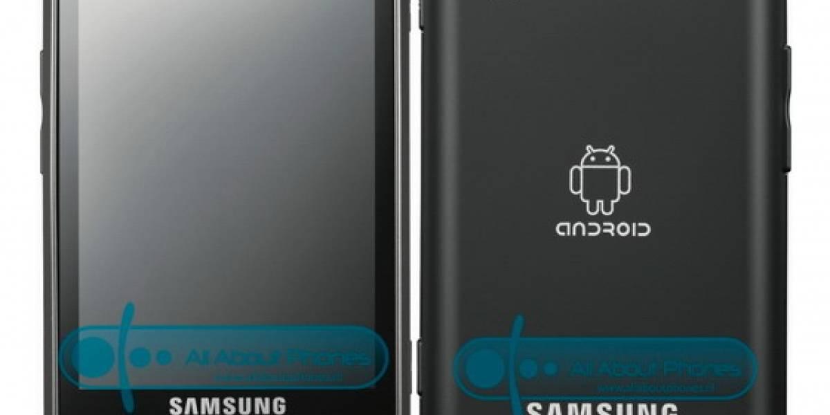 Imágenes oficiales del Samsung Galaxy i5700