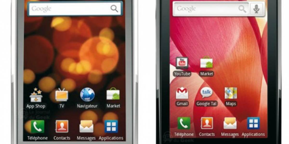 Galaxy Naos y Teos, dos nuevos Android de Samsung
