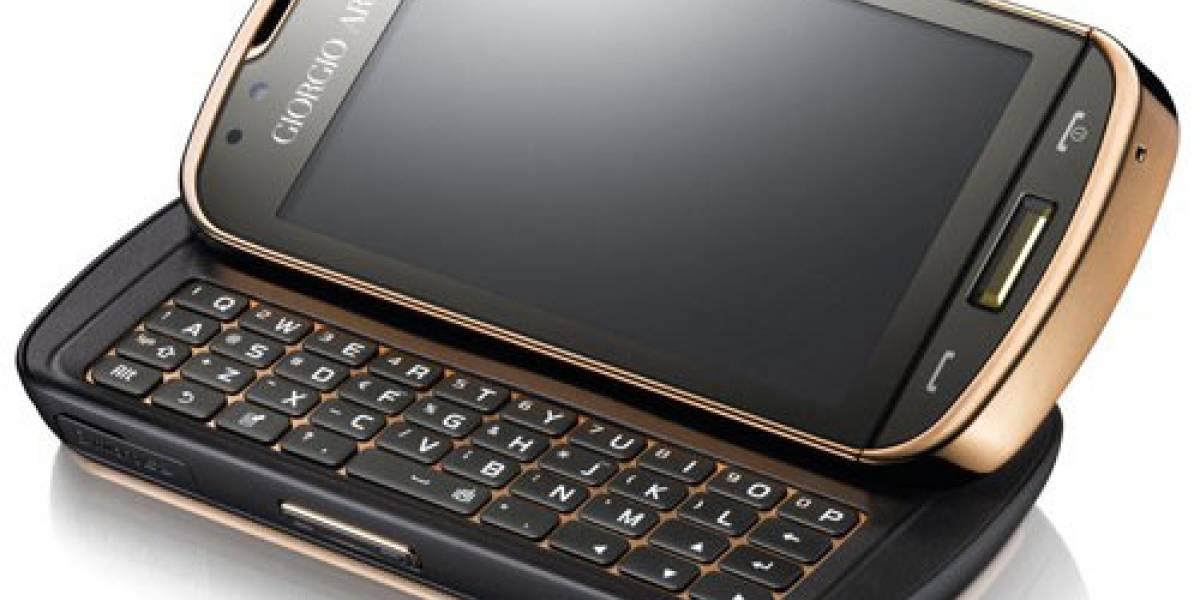 Presentación oficial del Samsung Giorgio Armani con WinMo 6.5