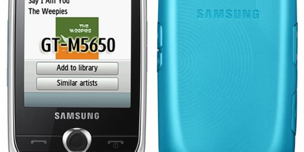 Samsung Lindy M5650 anunciado oficialmente