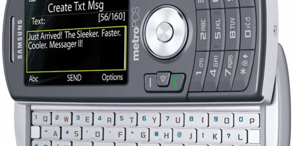 MetroPCS ha lanzado el Samsung Messager II
