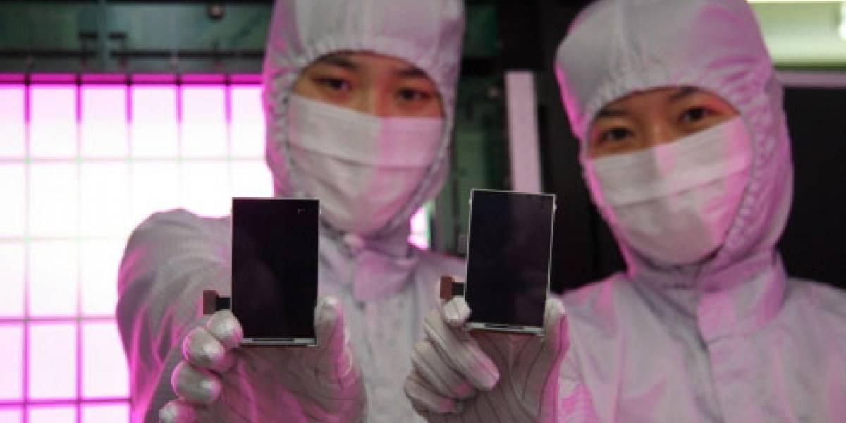 Samsung presentará en el MWC un móvil con pantalla Super AMOLED