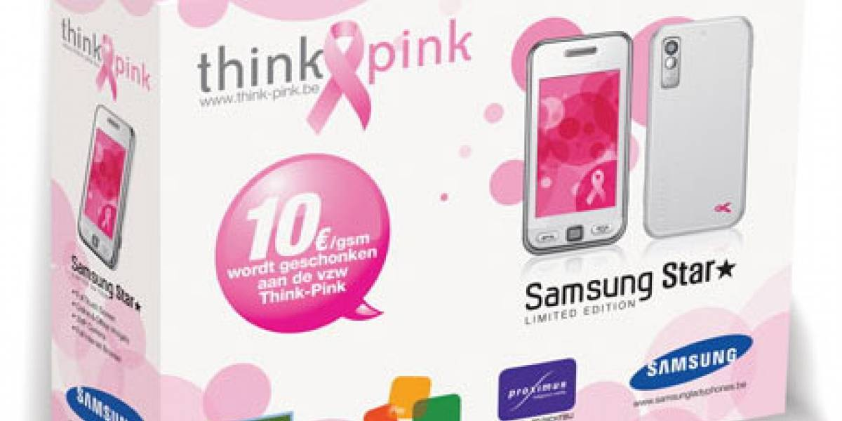 Samsung Star Think Pink Edition, un móvil que dona sus ganancias