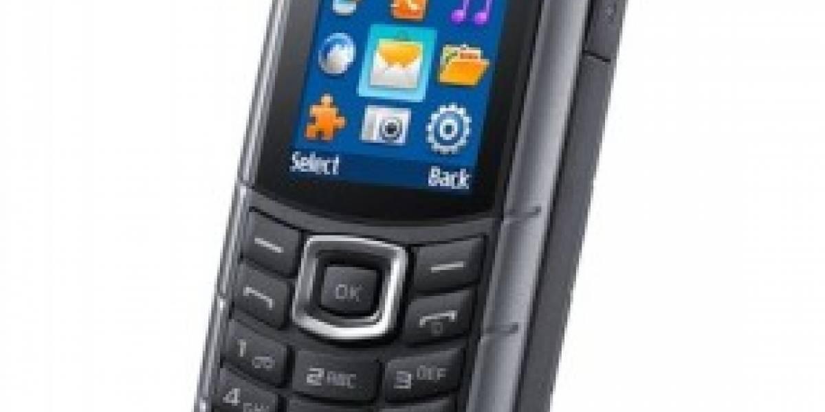 Samsung lanza Xcover E2370, el móvil que dura 67 días en standby