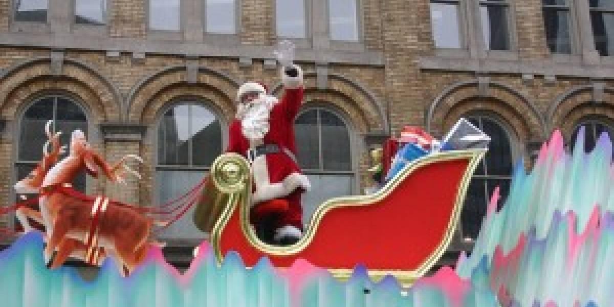 Sigue a Santa Claus también en tu móvil