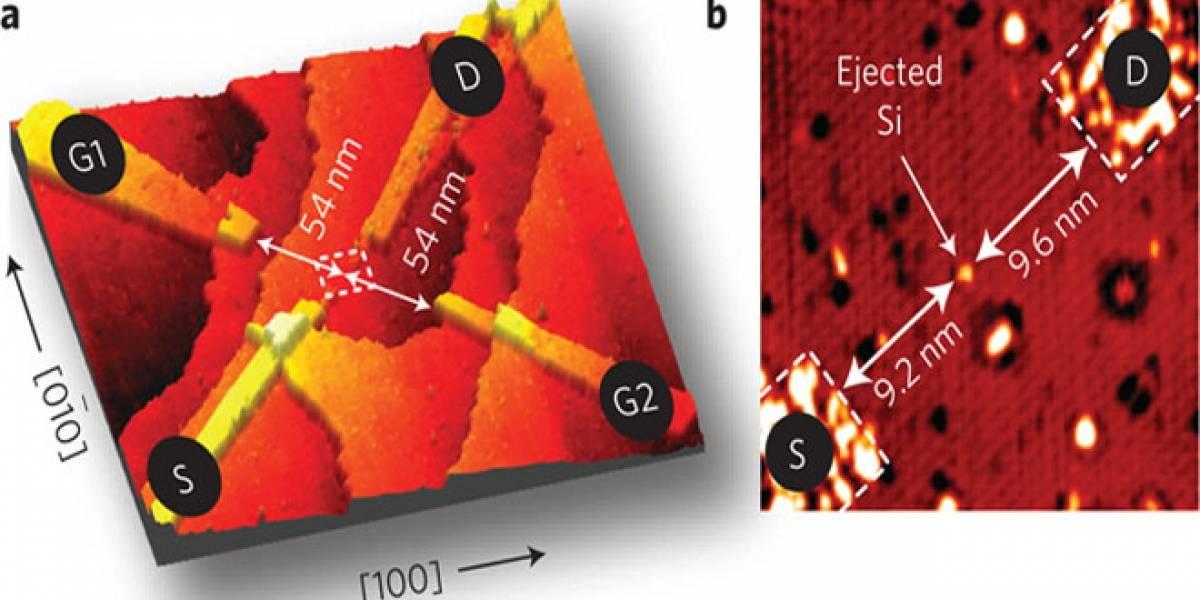 Descubrimiento: Científicos logran crear un transistor de un solo atómo
