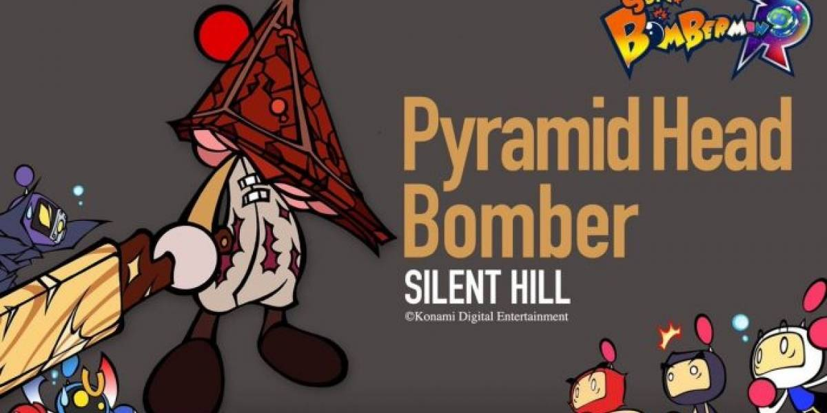 Pyramid Head, Simon Belmont y Vic Viper se integran a Super Bomberman R