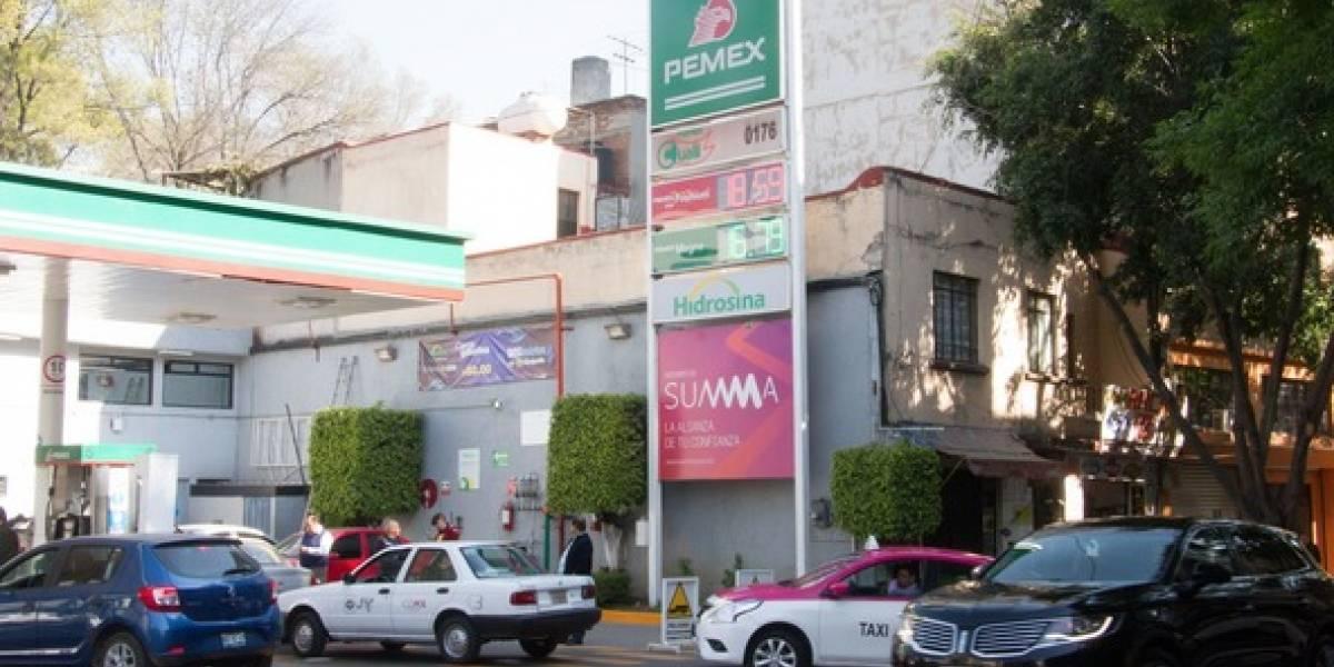 Continuarán 'ajustes graduales' en precio de gasolina: Hacienda