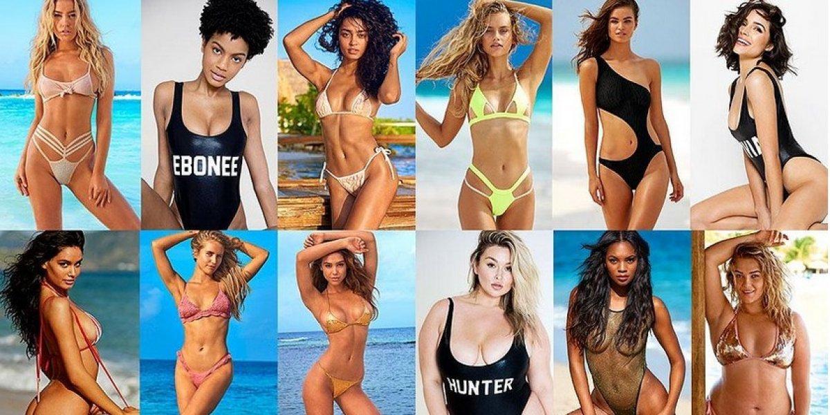 Las candidatas para 'Novata del año' de la edición de trajes de baños de SI