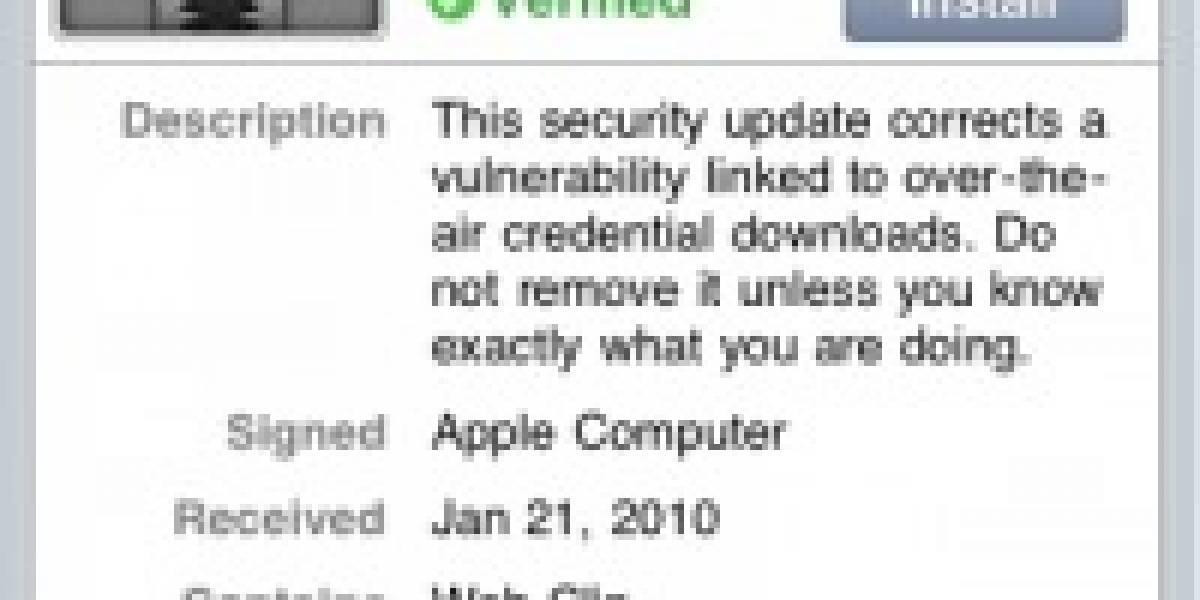 Descubren peligrosa falla de seguridad en el iPhone