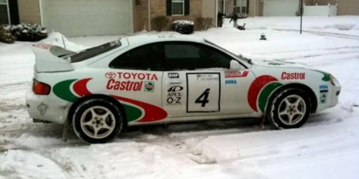 Sega Rally y su fan número 1