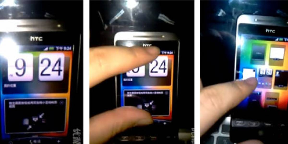 Video: HTC Hero corriendo Android 2.1 y HTC Sense
