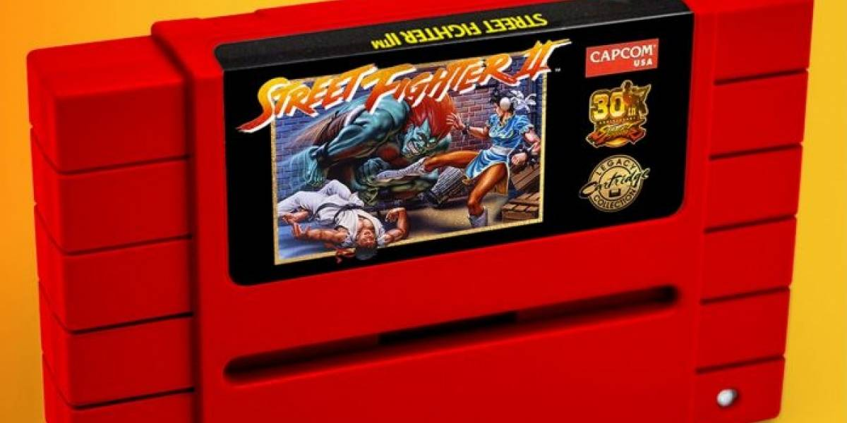Capcom relanzará Street Fighter II en Super Nintendo