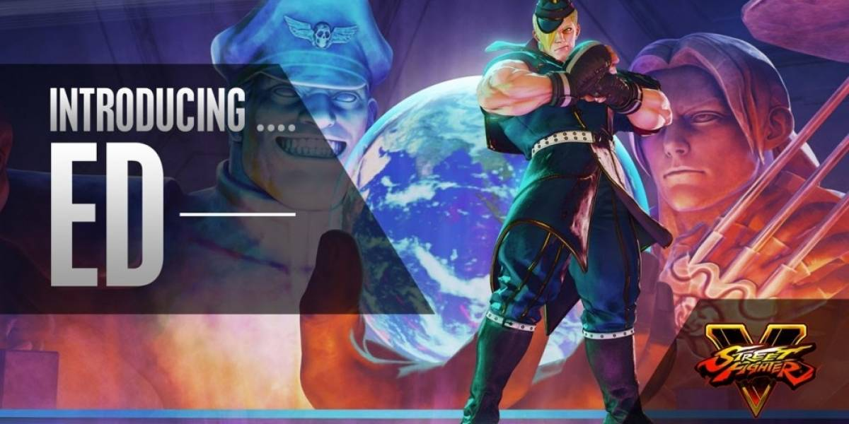 Nuevo tráiler de Street Fighter V nos presenta a Ed en acción