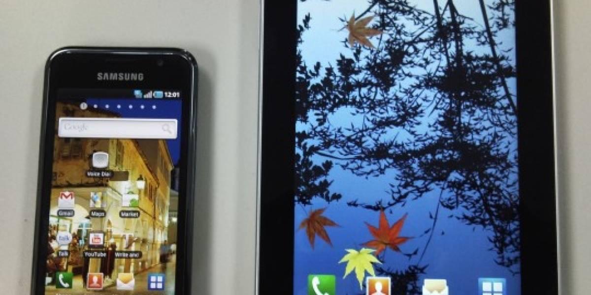 Samsung revela su propio tablet