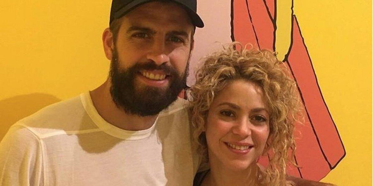 VIDEO. Gerard Piqué acompaña a Shakira en uno de sus más alocados festejos
