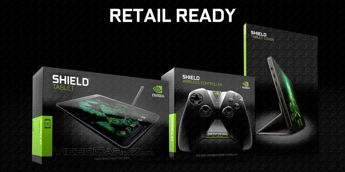 NVIDIA SHIELD Tablet se anunciará el 22 de julio