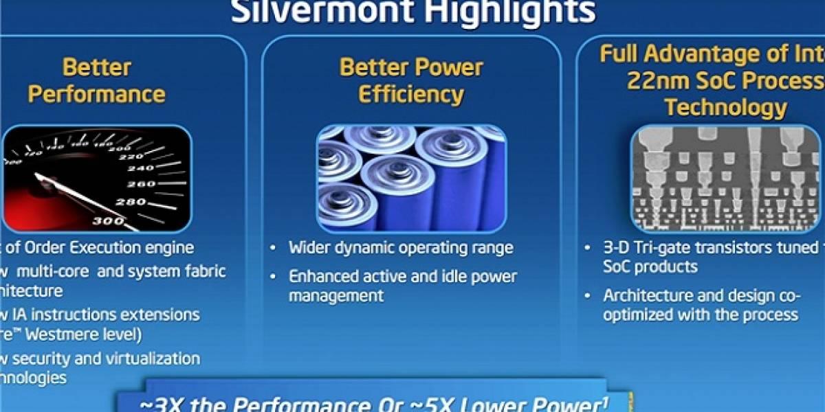 Futuros Celeron y Pentium estarán basados en la micro-arquitectura Silvermont