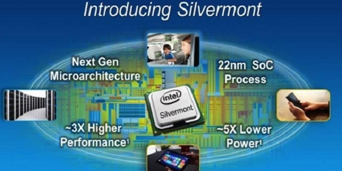 Intel anuncia su nueva micro-arquitectura Silvermont