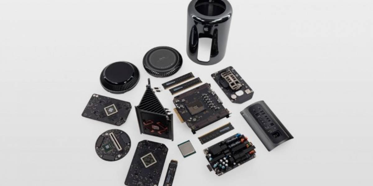 iFixit analizó el Mac Pro y lo encontró muy fácil de reparar