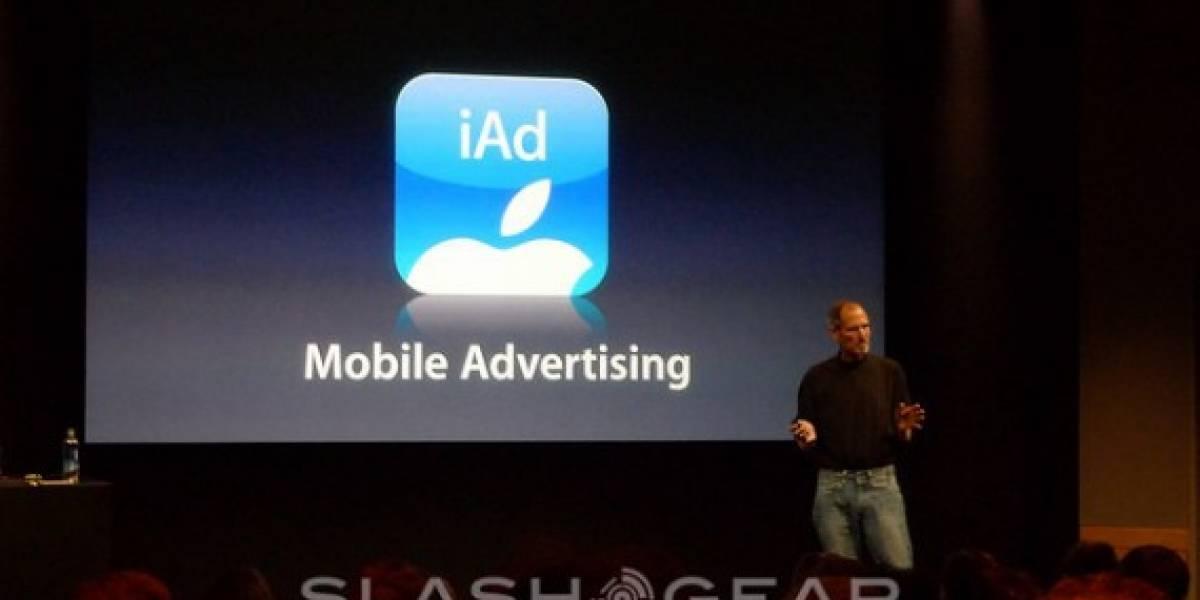 Apple presentó iAd, su plataforma publicitaria para móviles