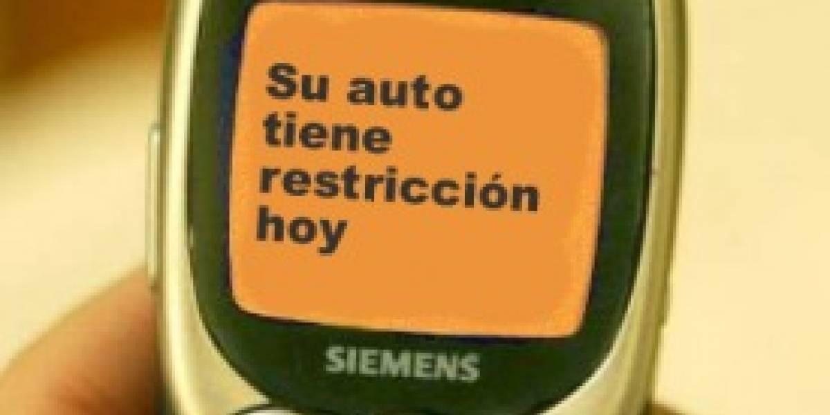 Chile: Sistema de SMS avisa en caso de preemergencia ambiental