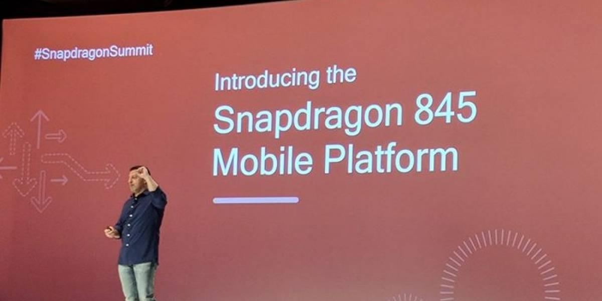 Estos serían todos los teléfonos con Snapdragon 845 que se lanzarían en 2018