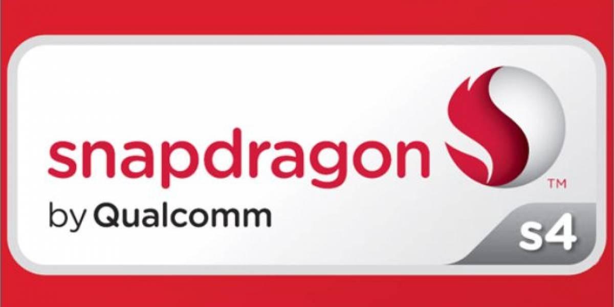 Qualcomm anuncia sus SoC Snapdragon S4 Pro