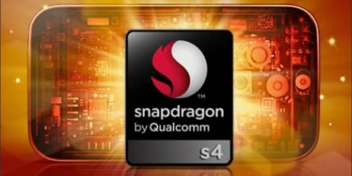 Qualcomm lanza nuevos SoC Snapdragon S4 Pro basados en Krait 300