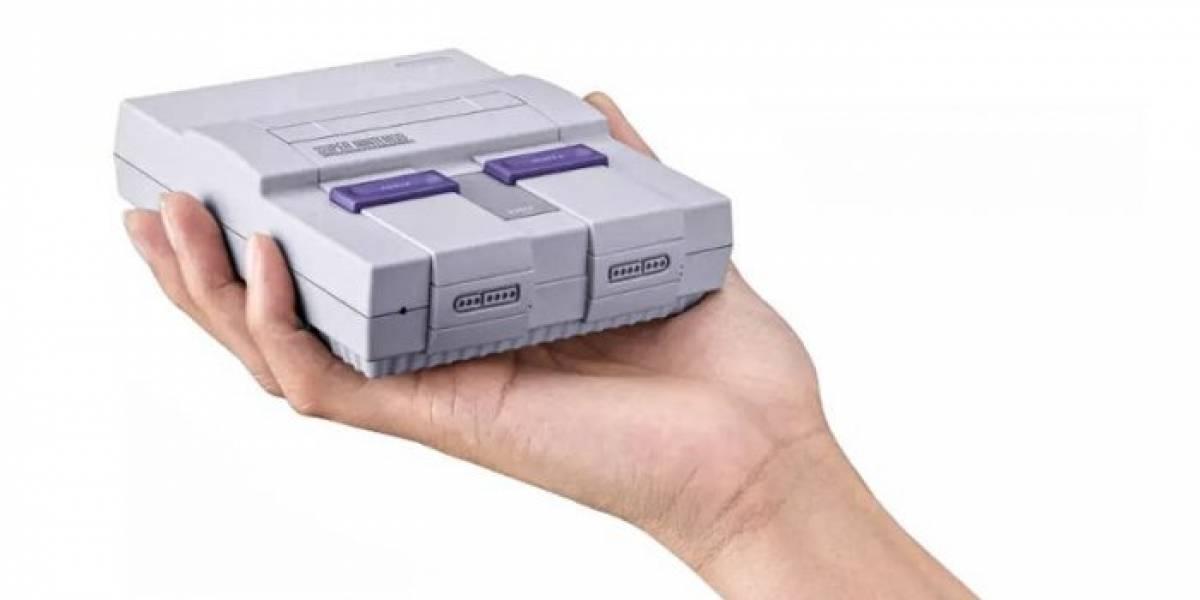 La SNES Mini es anunciada oficialmente, llega en septiembre
