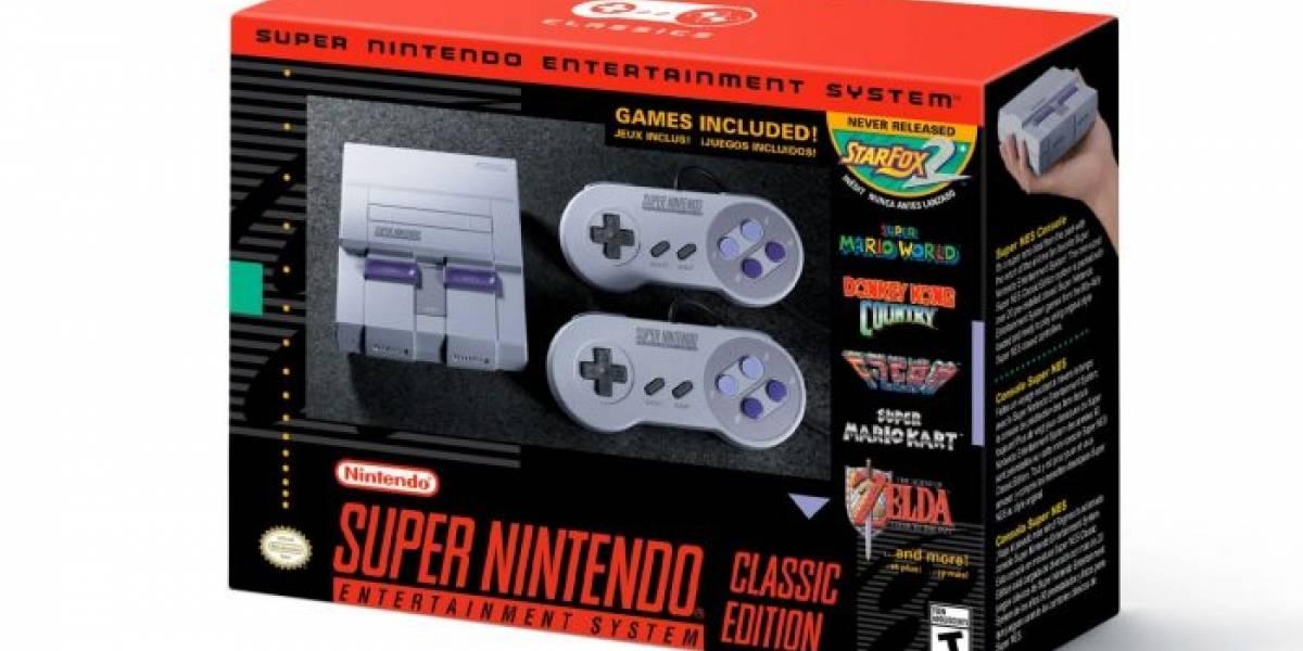 Nintendo planea distribuir el SNES Mini solo durante este año