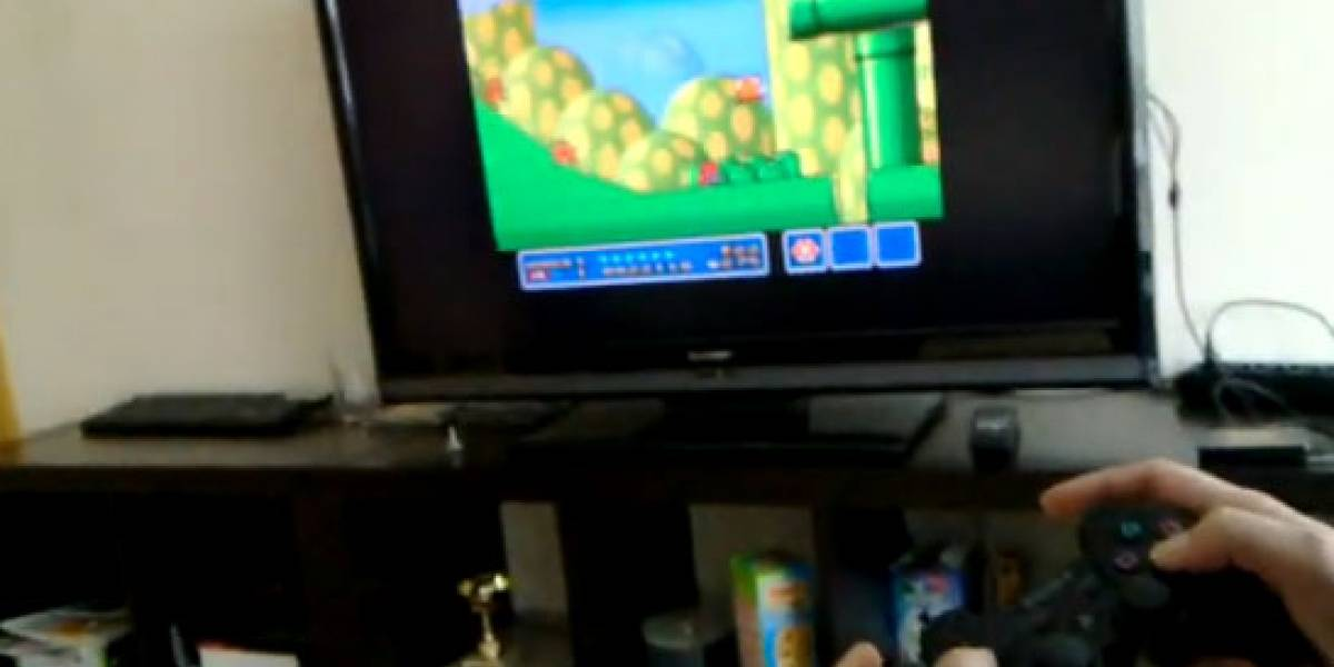 Video: Nokia N900 emulando SNES en una TV externa y con un mando de PS3
