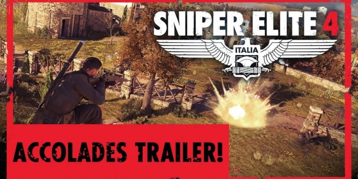 Sniper Elite 4 estrena tráiler de elogios