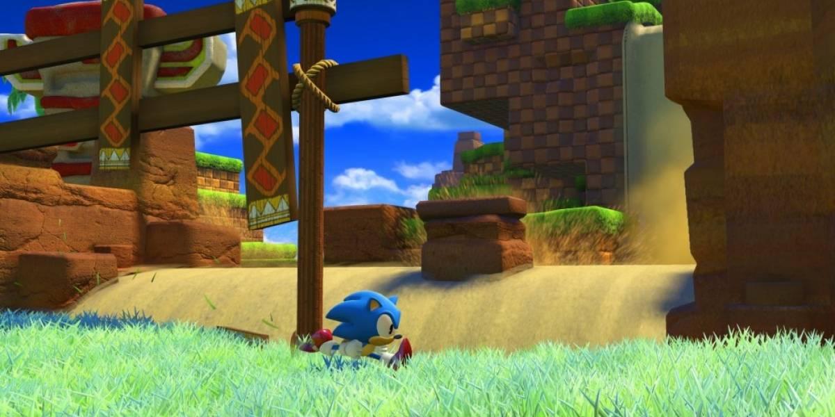 Muestran jugabilidad de Sonic Clásico en Sonic Forces