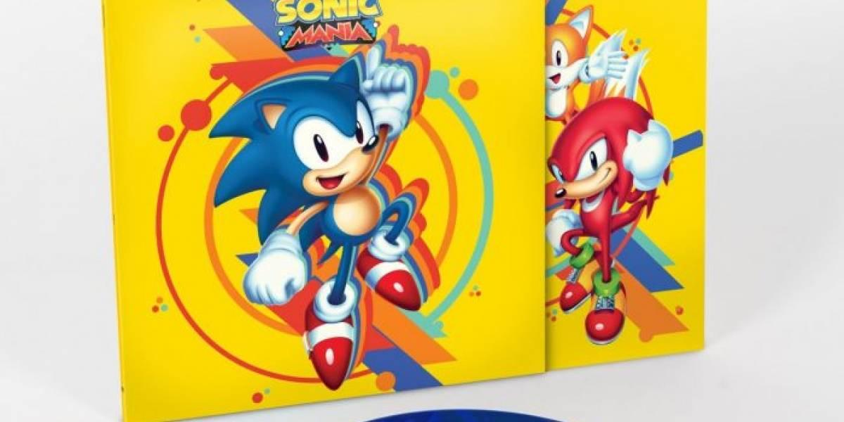 Banda sonora de Sonic Mania será lanzada en vinilo