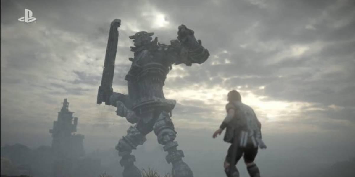 Sony confirma que Shadow of the Colossus en PS4 será un remake