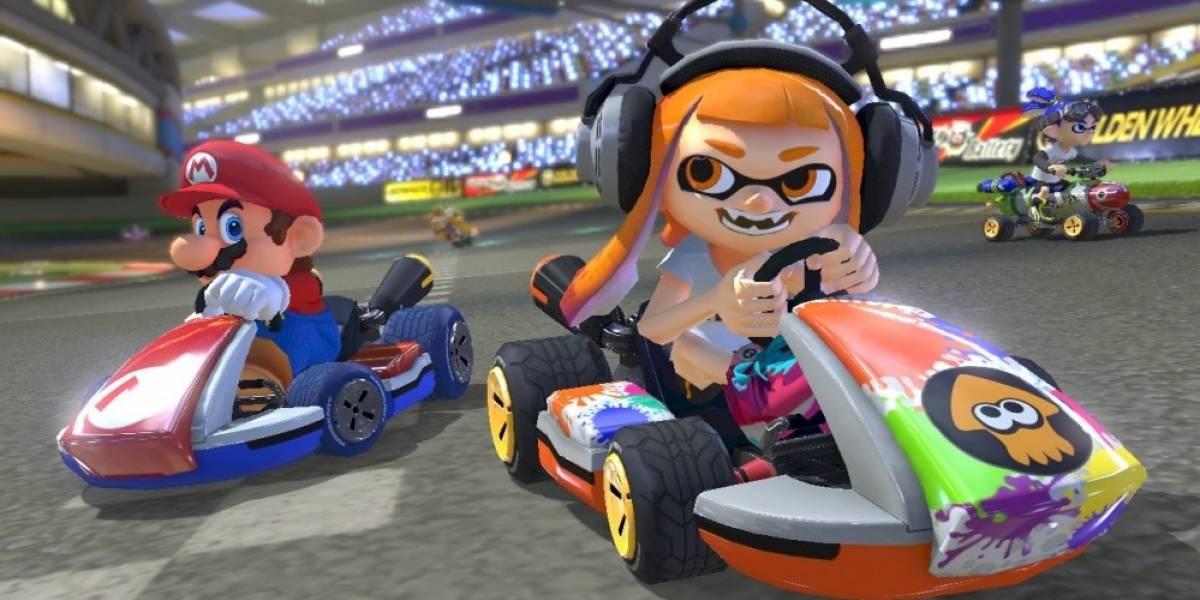 Mario Kart 8 Deluxe se actualiza y elimina celebración ofensiva de Inkling Girl