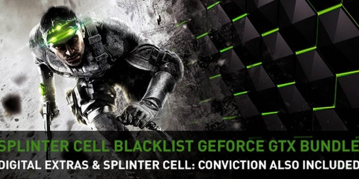 NVIDIA regalará el juego Splinter Cell Blacklist con sus tarjetas de video GeForce