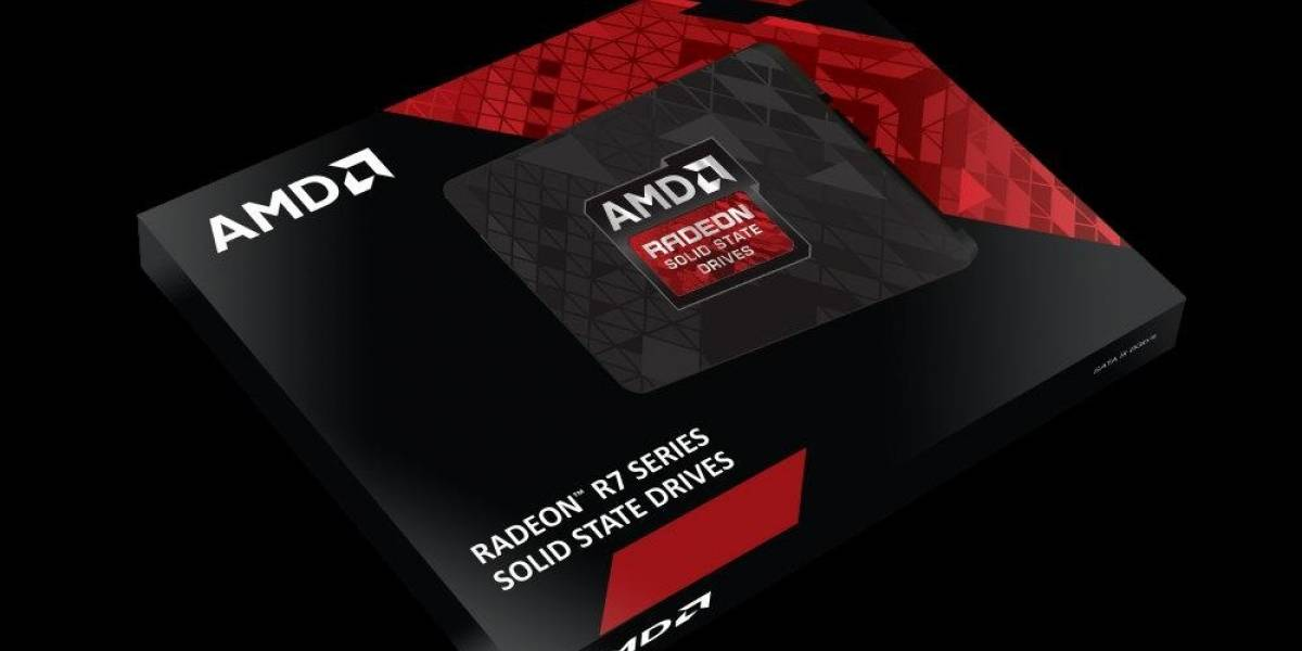 AMD lanza sus unidades de almacenamiento sólido Radeon R7 Series