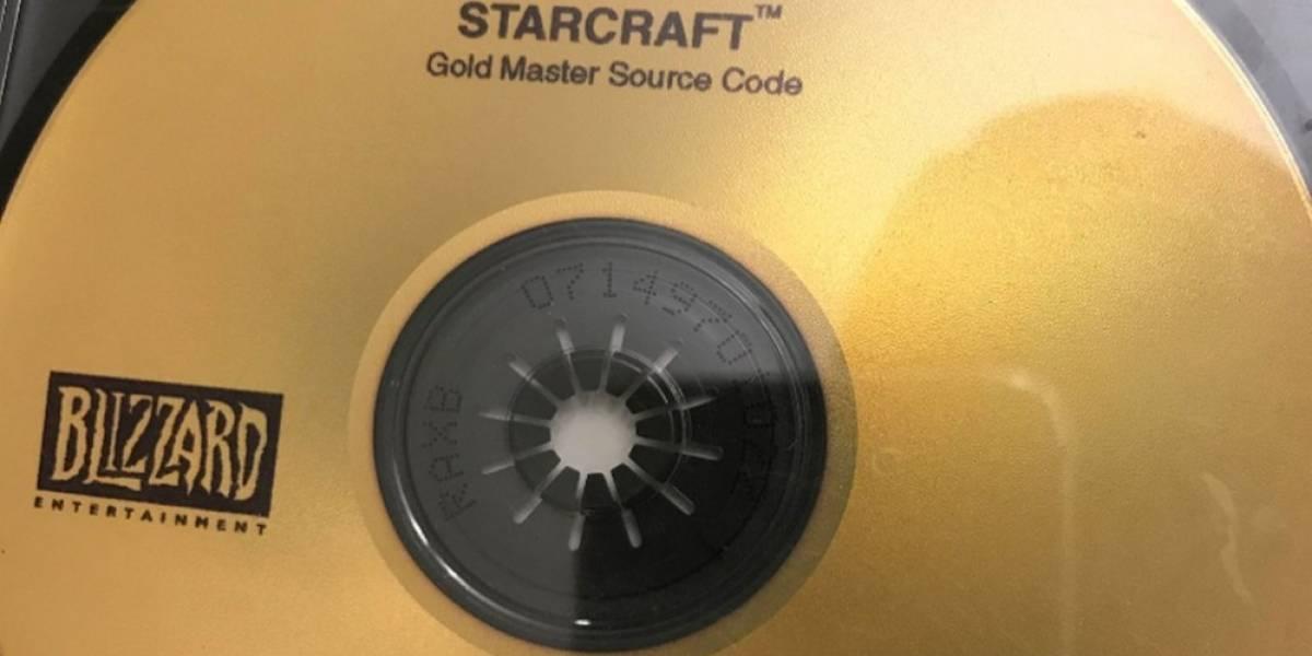 Coleccionista encuentra disco con código fuente de StarCraft perdido hace 20 años