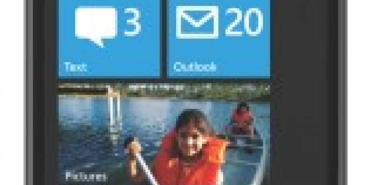 Detalles de hardware de Windows Phone 7