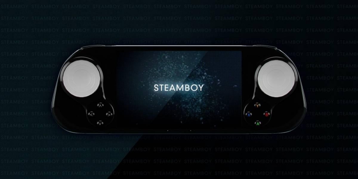 SteamBoy: La consola portátil basada en SteamOS