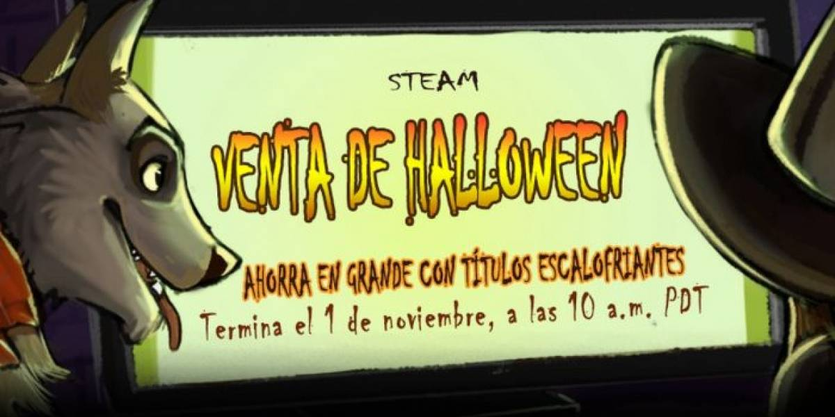 Arranca la Venta de Halloween en Steam