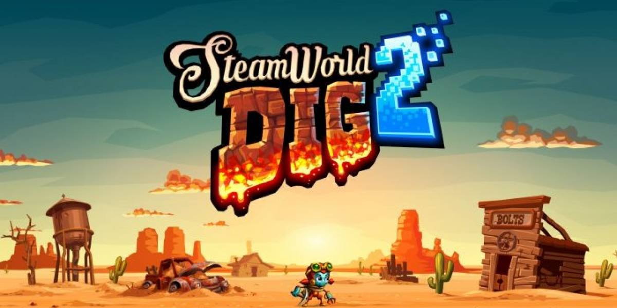 SteamWorld Dig 2 llegará este mes a PS4 y PS Vita