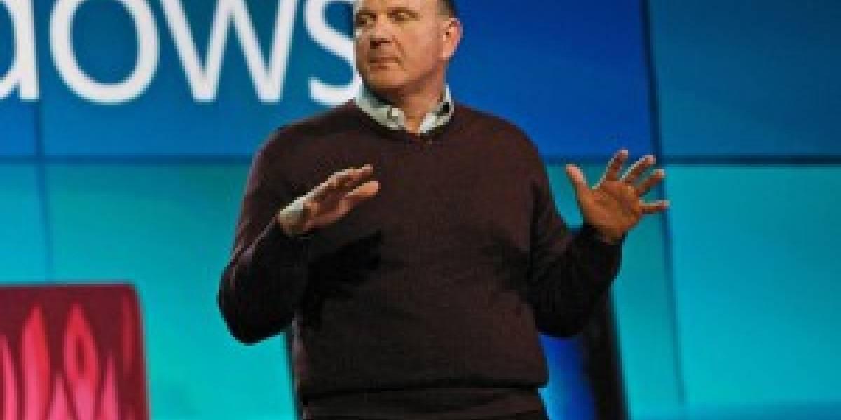 Ballmer critica desempeño de Microsoft en mercado de móviles