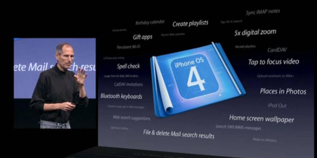 Video de la presentacion del iPhone OS 4.0 ya disponible