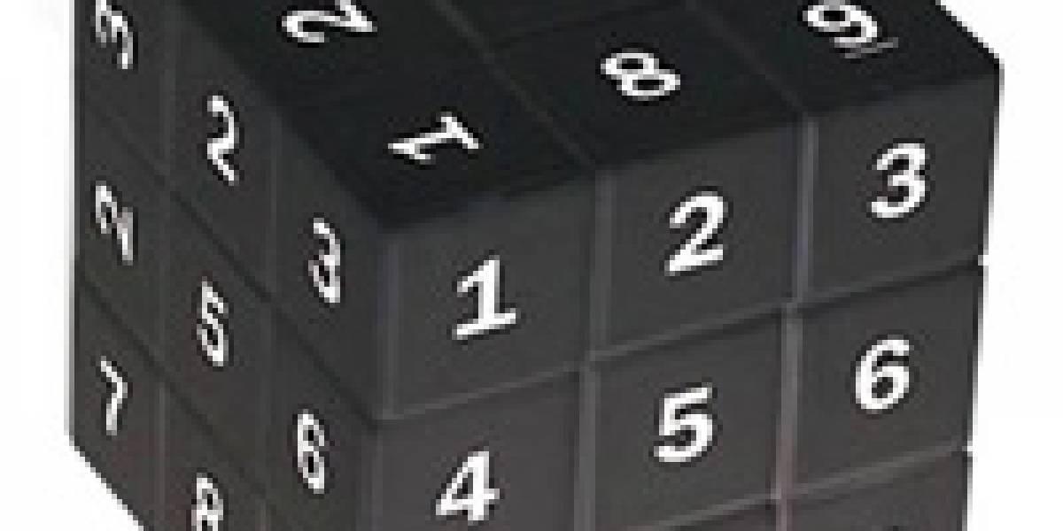 Sudokube: Sudoku y cubo Rubik