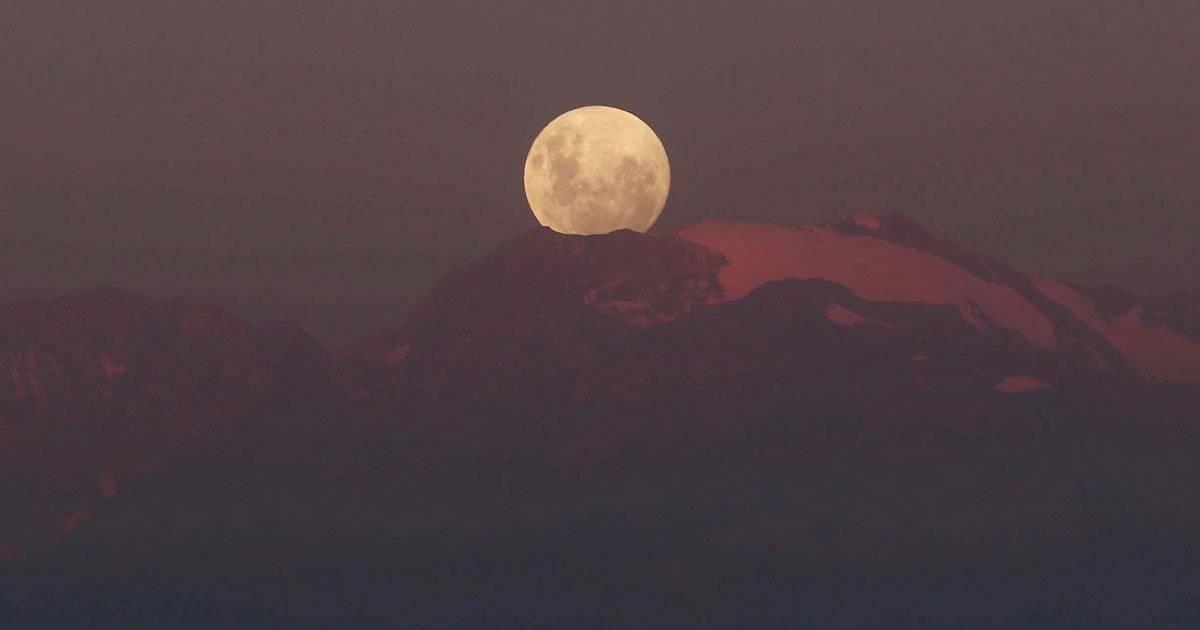 Sobre os Andes, no Chile REUTERS/Pablo Sanhueza