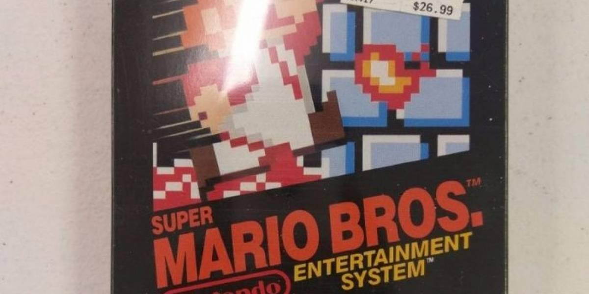 Venden una copia de Super Mario Bros. por 30 mil dólares